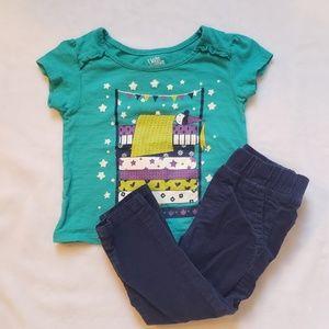 Kids Korner princess and the pea shirt 9 mo